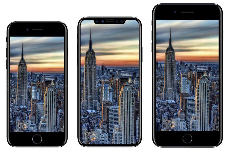 Grafika prezentująca iPhone'a 7s