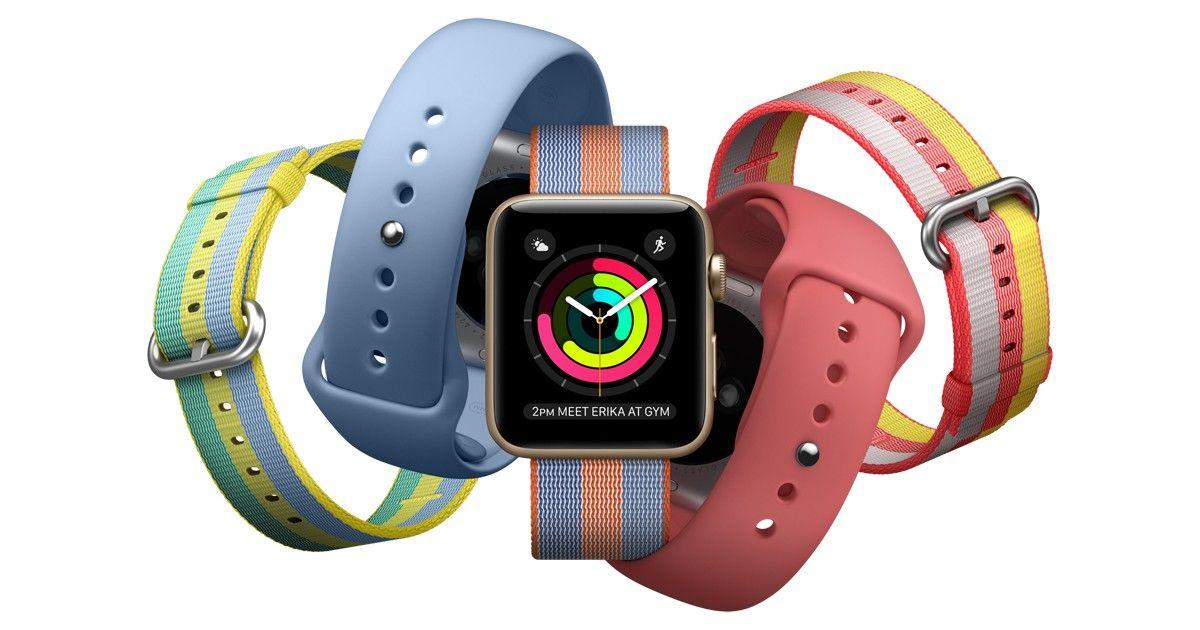 Nowe kolory Apple Watch Series 3