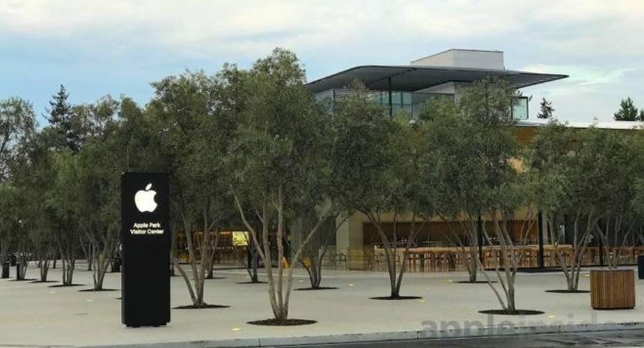 Nowe zdjęcia centrum dla zwiedzających w Apple Park
