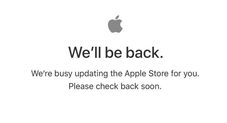 Internetowy sklep Apple nieczynny