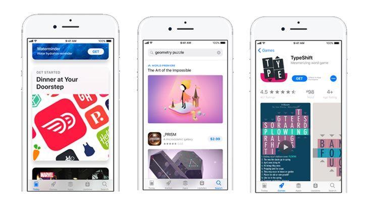 Apple promuje nowy App Store