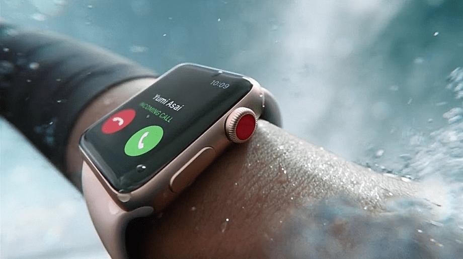 Apple Watch Series 3 z LTE nie działa jak należy