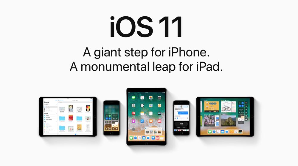 Apple wydaje iOS 11.01