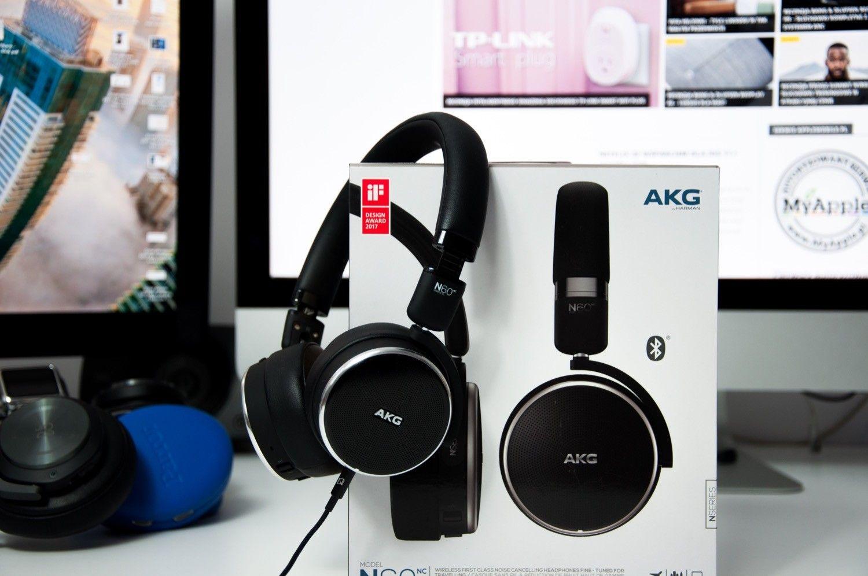 Recenzja słuchawek AKG N60NC – bezprzewodowy laureat EISA w prestiżowym rankingu Design Award 2017