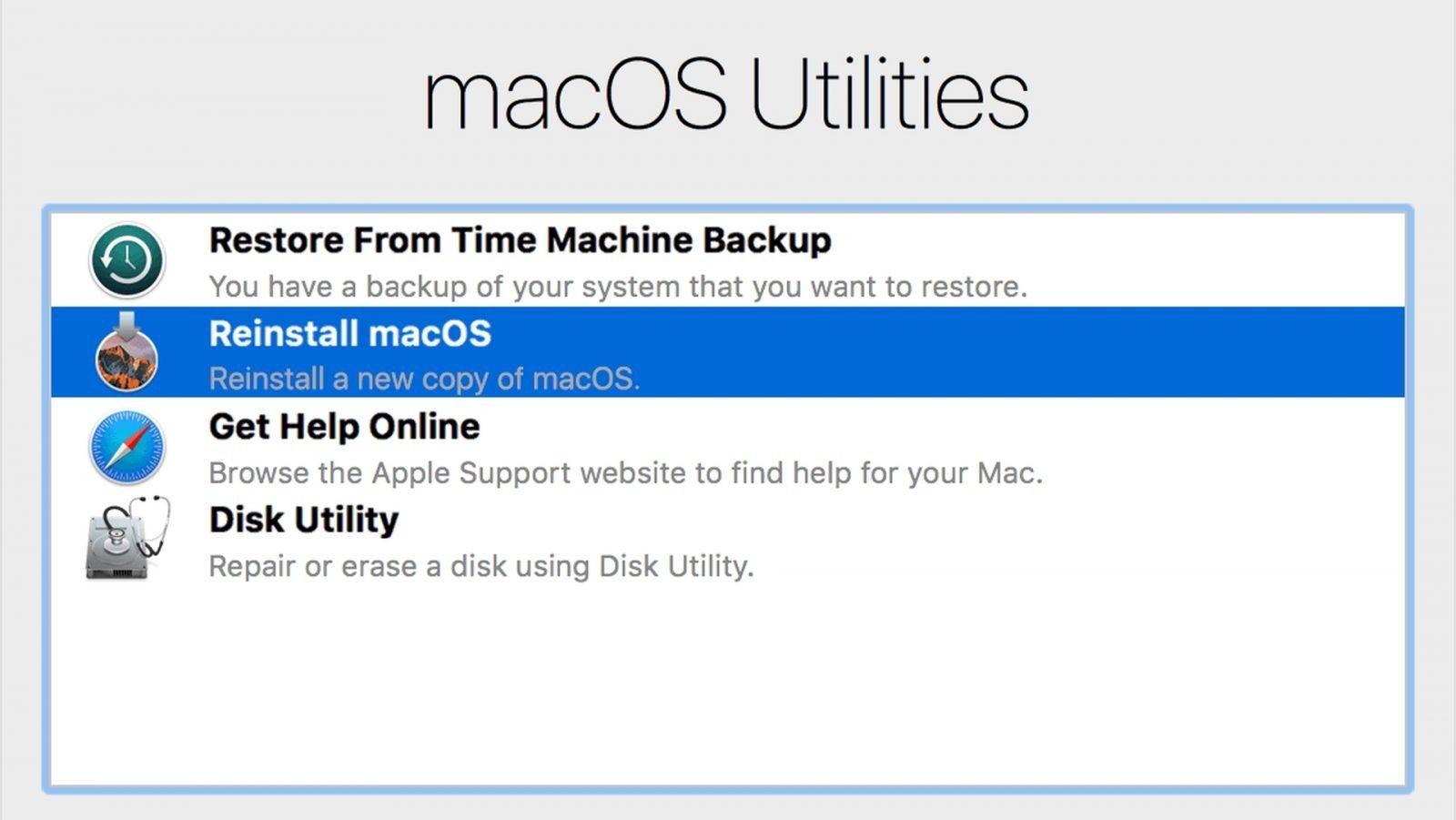 Jak możemy wejść w różne tryby Recovery na macOS?