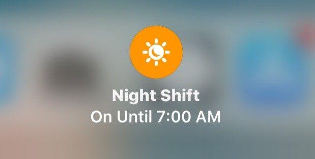Jak włączyć tryb Night Shift z poziomu Centrum Sterowania w iOS 11