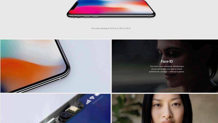 Amerykańska strona Apple odświeżona