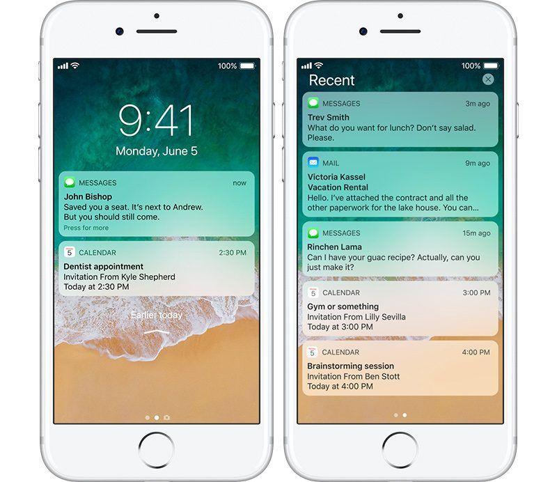 iPhone X ukryje powiadomienia kiedy na ekran spojrzy obca osoba