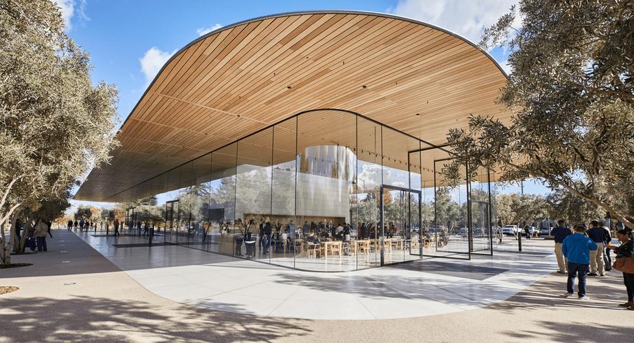 Centrum dla zwiedzających w Apple Park już otwarte