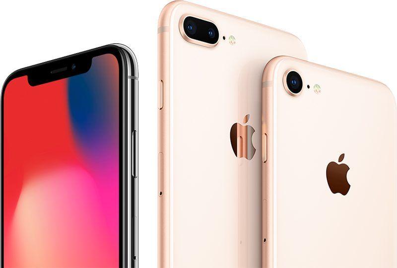 Znakomita sprzedaż iPhone'a X i 8 Plus