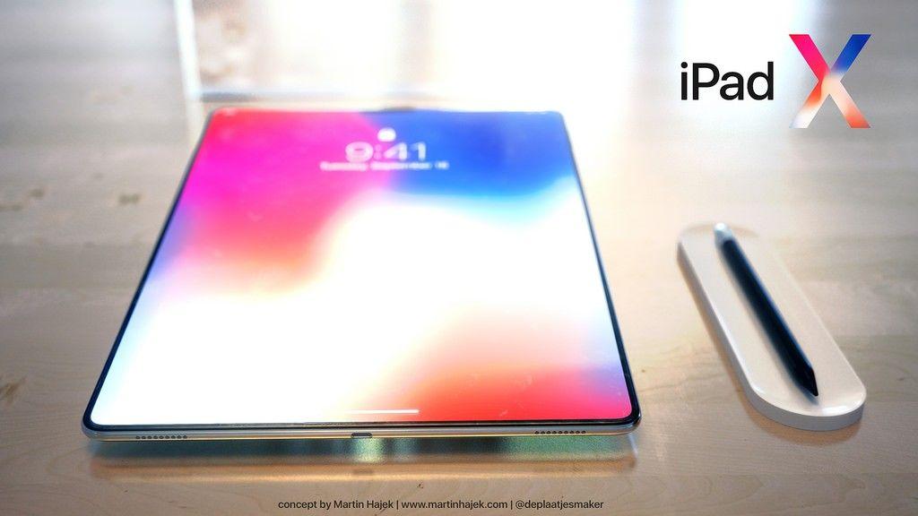 iPad X koncept urządzenia
