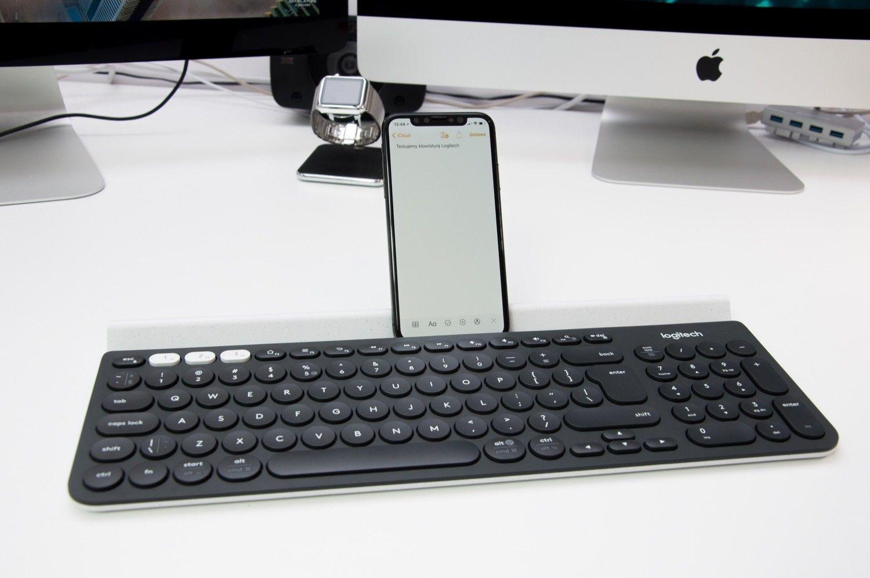 Recenzja bezprzewodowej klawiatury Logitech K780 z funkcją pracy z trzema urządzeniami iOS, Mac, Android i PC