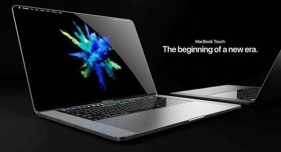 MacBook Touch – koncept komputera od Apple