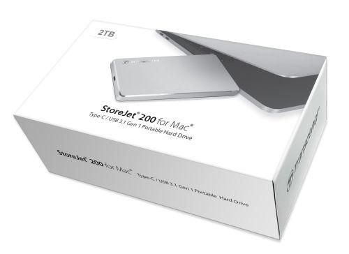Stylowy magazyn danych dla Maca – Transcend StoreJet 200