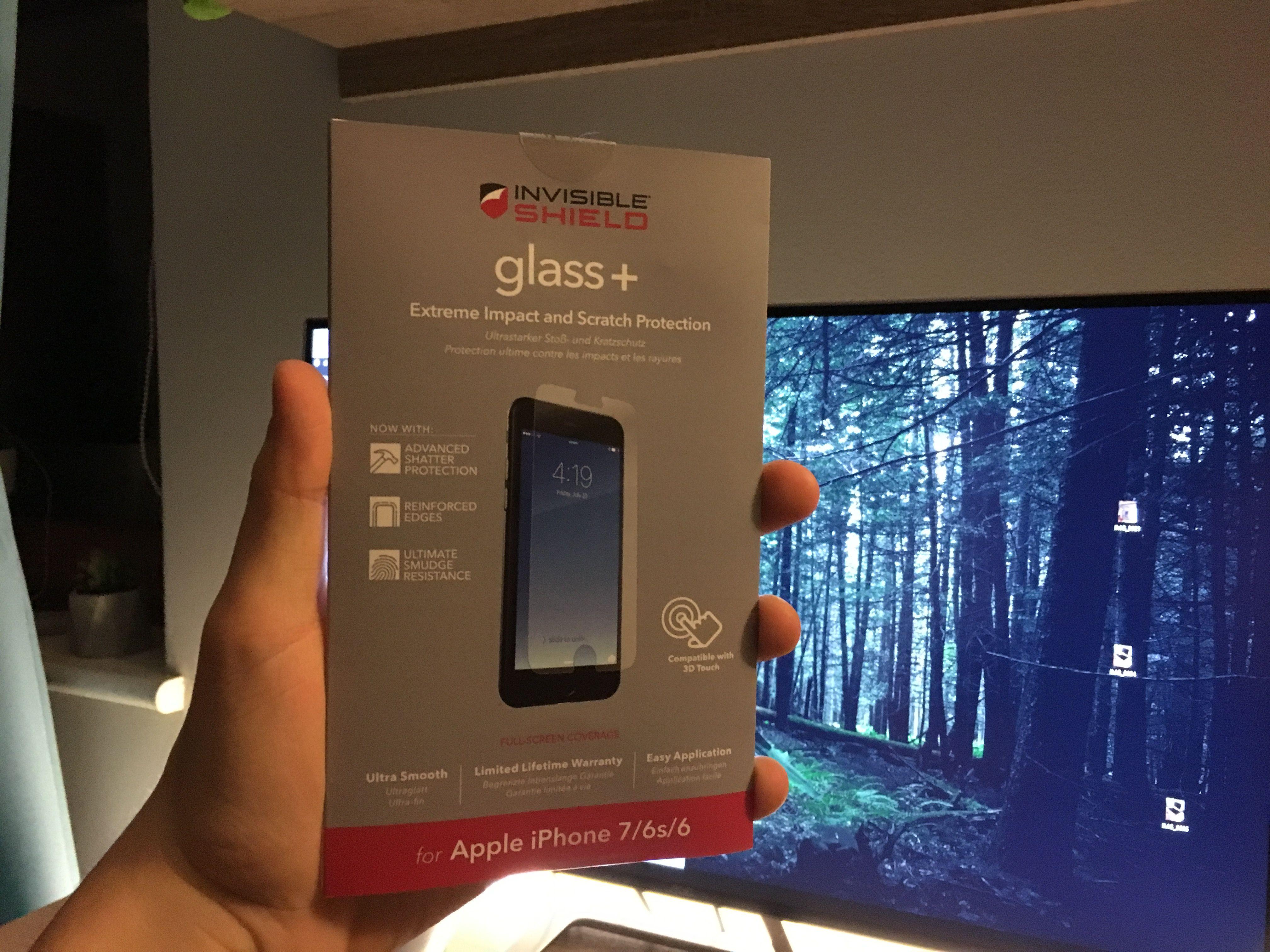 Szklany protektor na ekran dla iPhone'a dla wymagających – Recenzja INVISIBLE SHIELD GLASS+