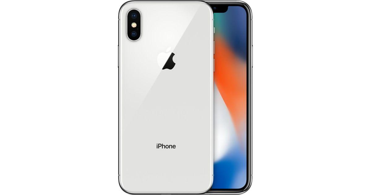 Parzący w ręce iPhone X