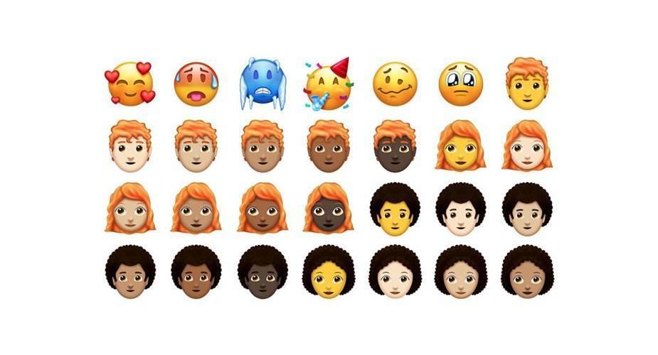 Nowe ikony Emoji, które trafią do iOS 12