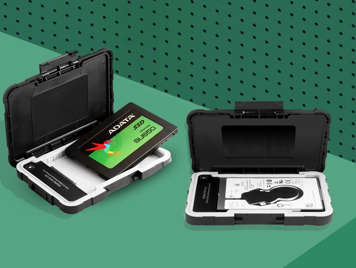 ADATA ED600 – zewnętrzna obudowa dla dysków HDD/SSD odporna na wstrząsy, wodę i kurz