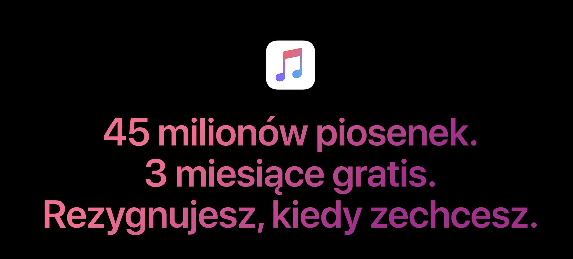 Apple Music w Polsce z nową taryfą