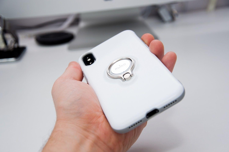 Recenzja PURO Magnet RING COVER dla iPhone X