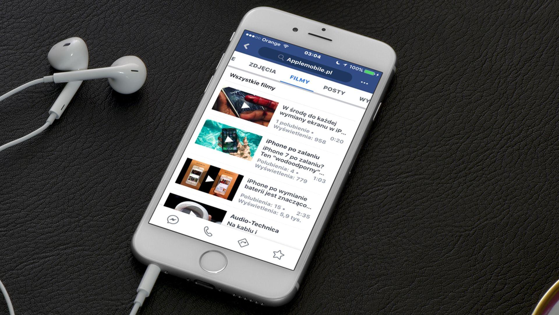 W jaki sposób pobierać filmy z Facebooka na iPhone'a i iPada?