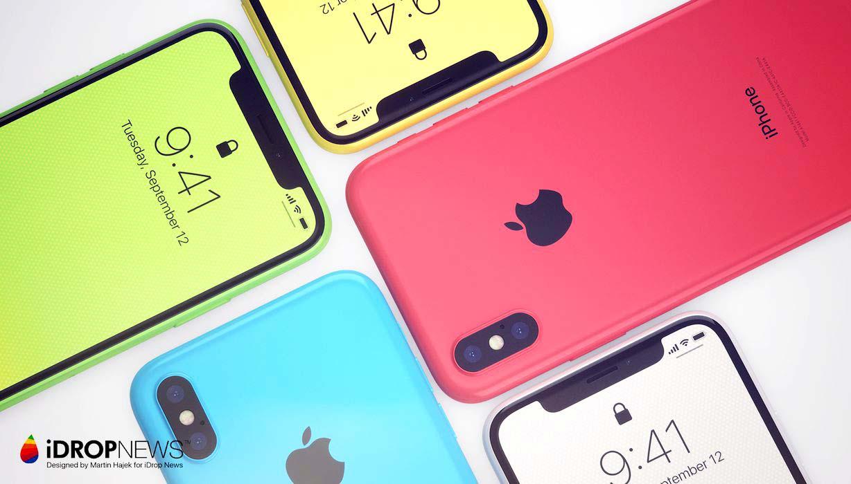 iPhone 8s w jaskrawych kolorach – raport