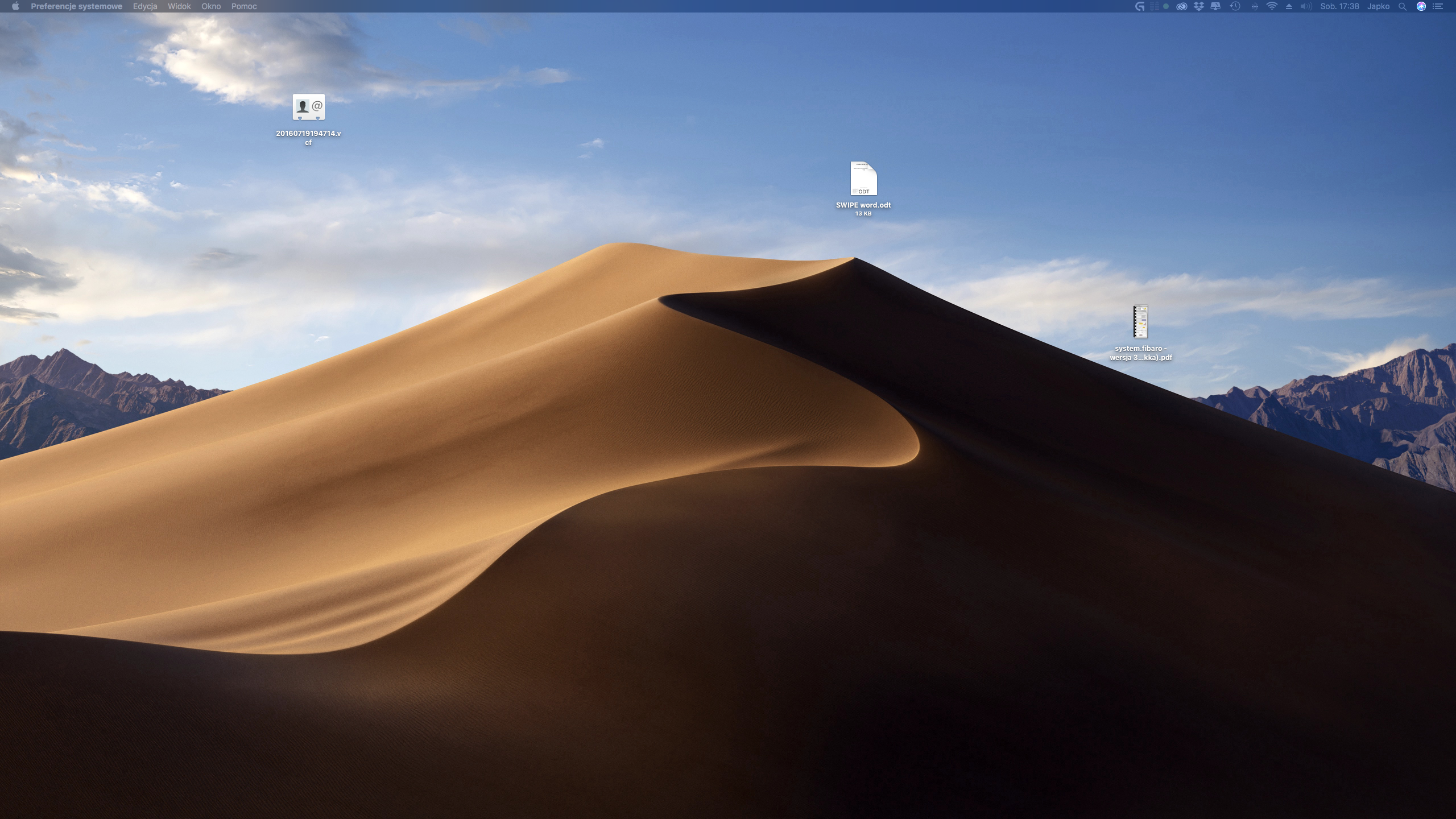 Jak ustawić dynamiczną tapetę z macOS Mojave na starszym macOS