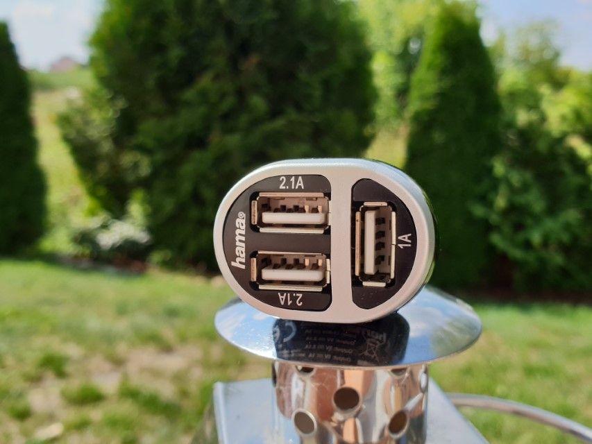 Recenzja hama® Car Charger 5.2A – solidne ładowanie 3 urządzeń z gniazdka zapalniczki w aucie