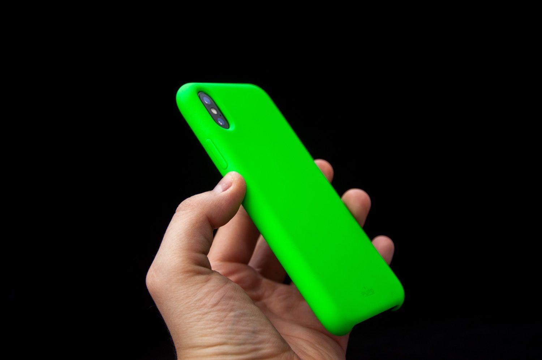 Zielono mi z Puro ICON dla iPhone X