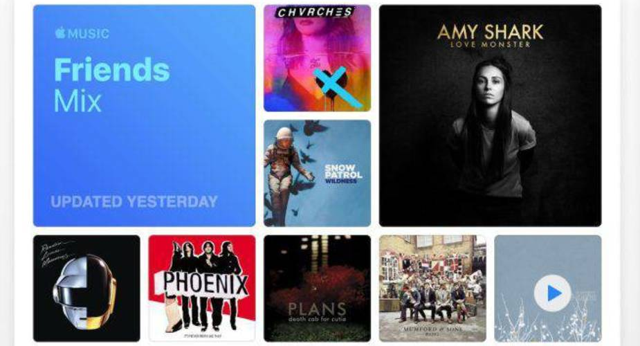 Apple Music z nową playlistą