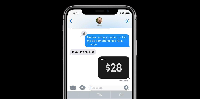 Apple Pay Cash najlepszą platformą P2P do transferu pieniędzy