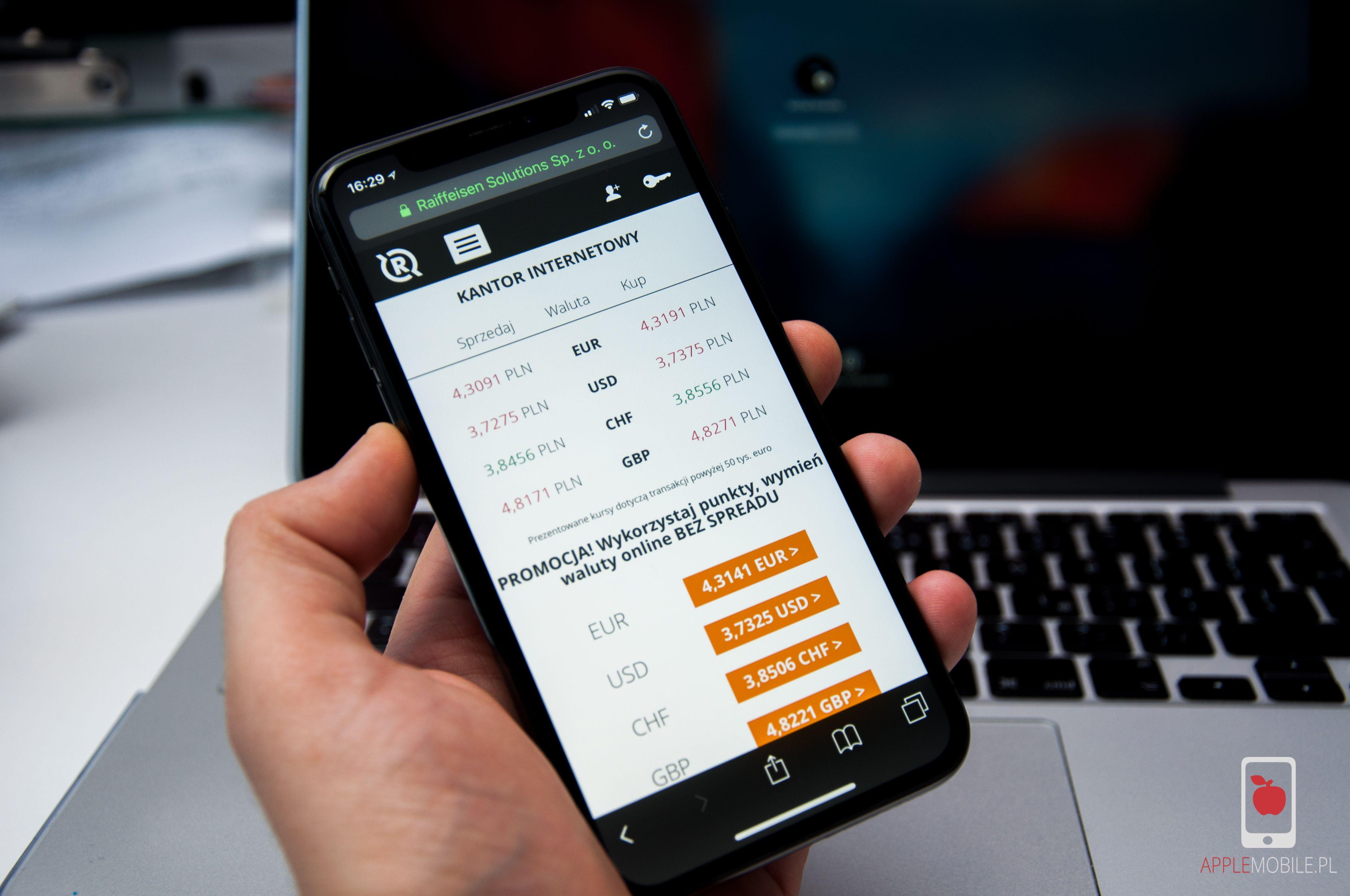 Jak kupić szybko, tanio i bezpiecznie waluty na iPhonie? W rKantor.com