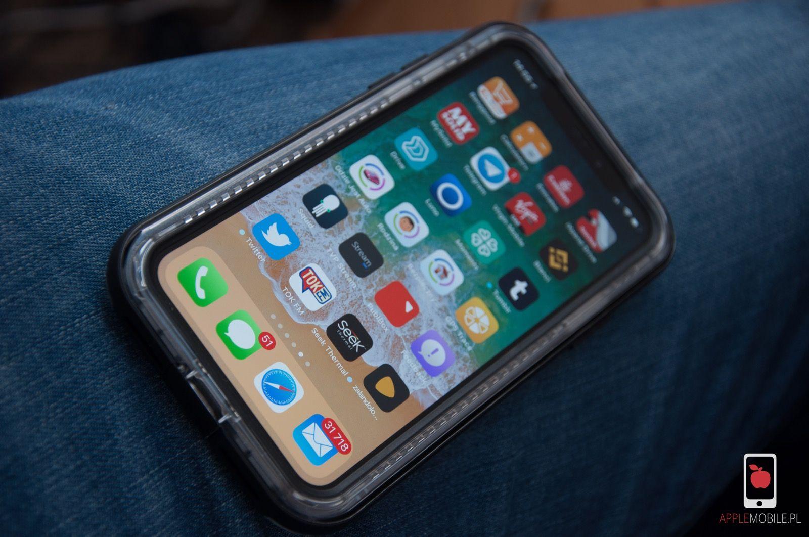 Recenzja etui Lifeproof Next dla iPhone X z certyfikatem szczelności IP5X
