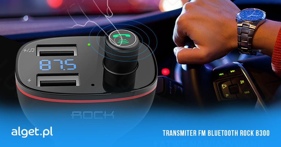 Ładowarka i zestaw głośnomówiący w jednym – poznaj Transmiter FM Bluetooth ROCK