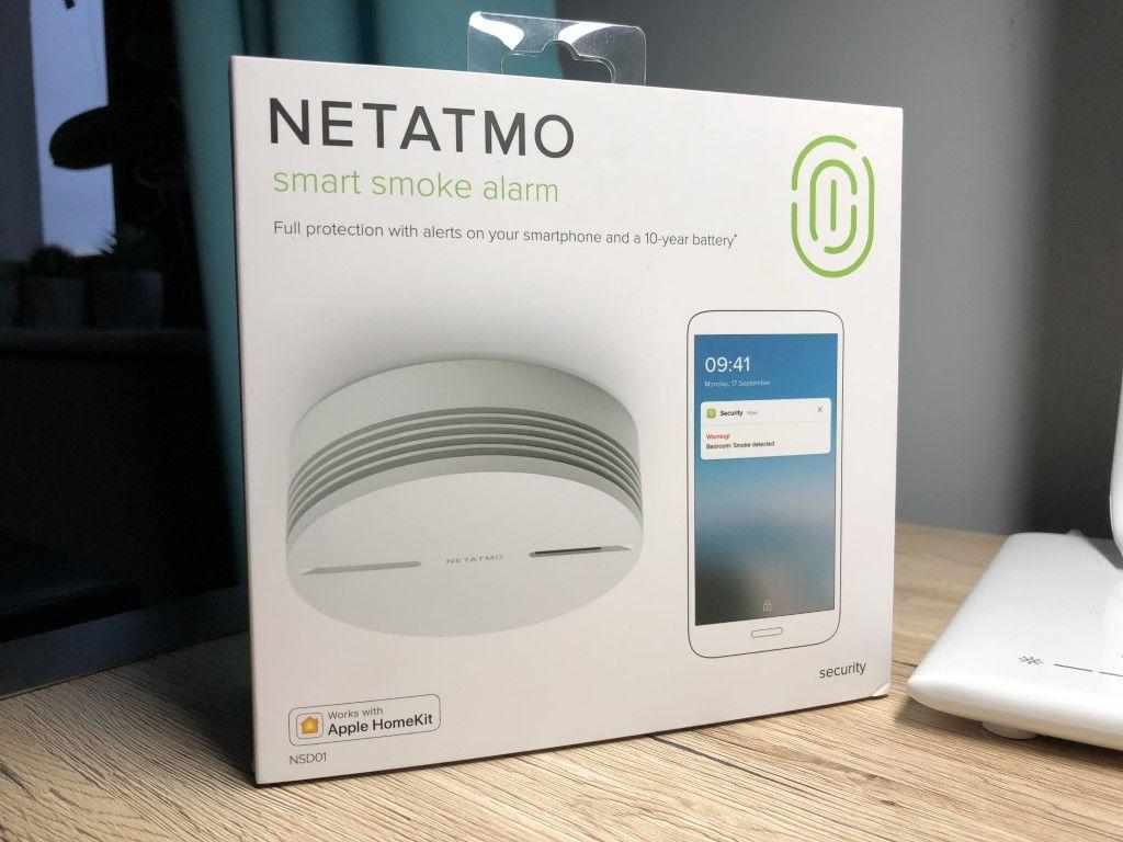 Recenzja Netatmo Smart Smoke Alarm – niezależny czujnik dymu, który dba o nasze bezpieczeństwo