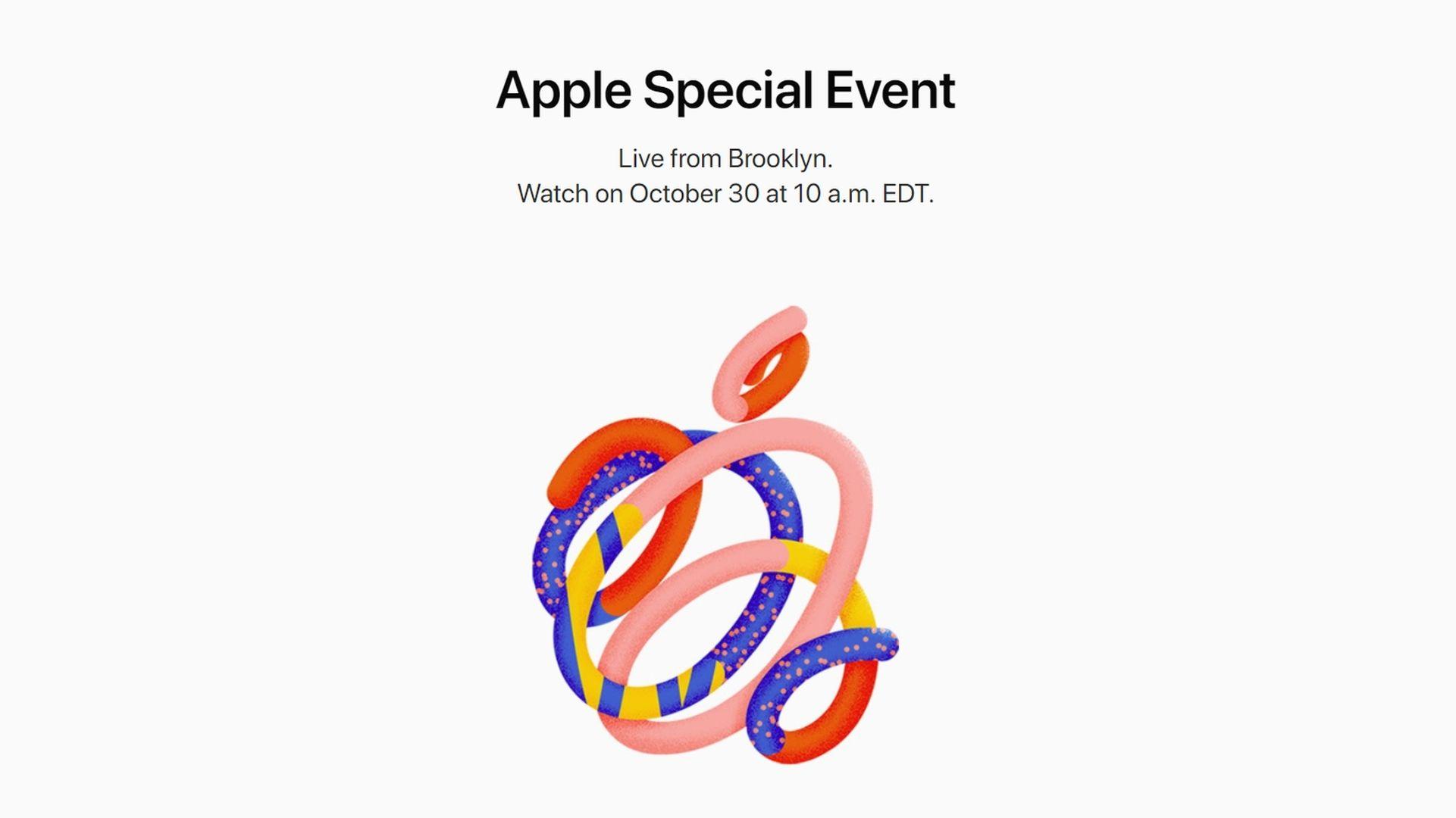 Apple zaprasza na swoją konferencję w październiku 2018