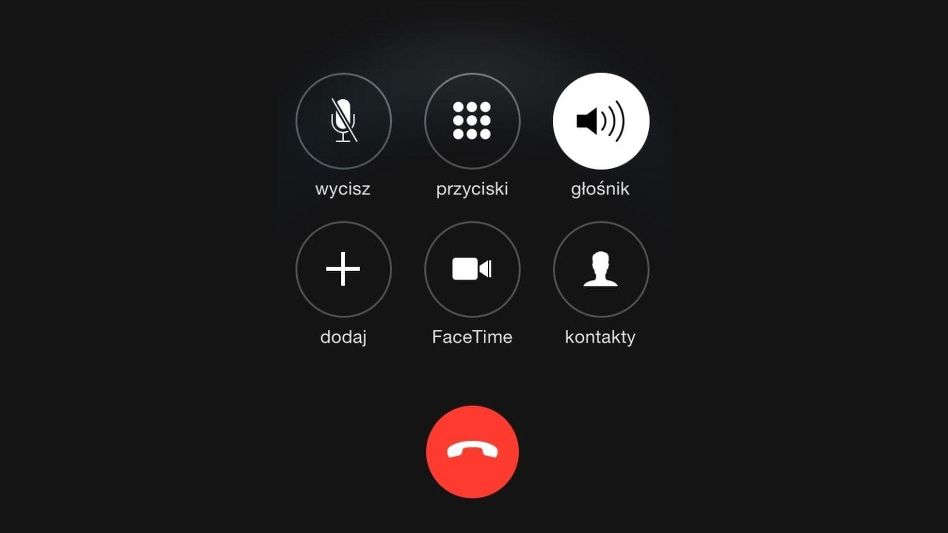 Jak ustawić iPhone'a aby automatycznie przełączał się na głośnik?