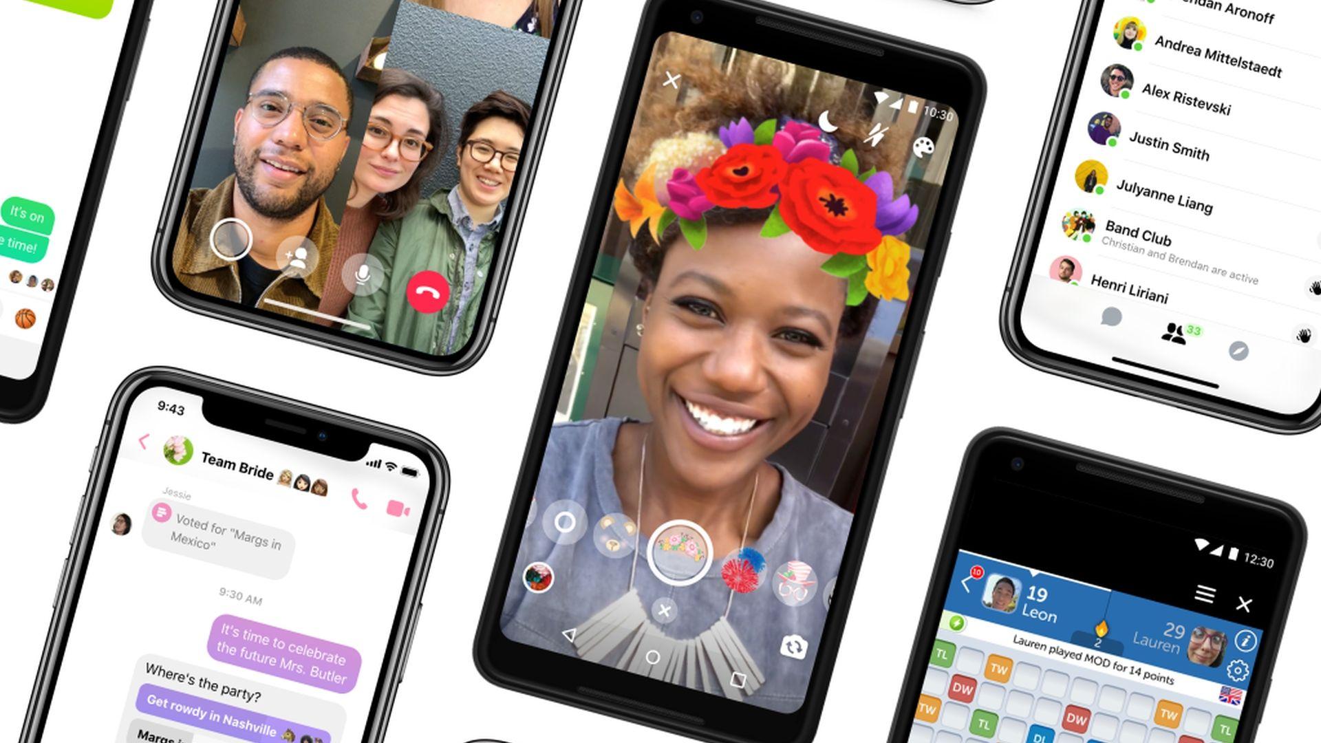 Aplikacja Messenger 4 wprowadzi tryb ciemny oraz łatwiejszą nawigację