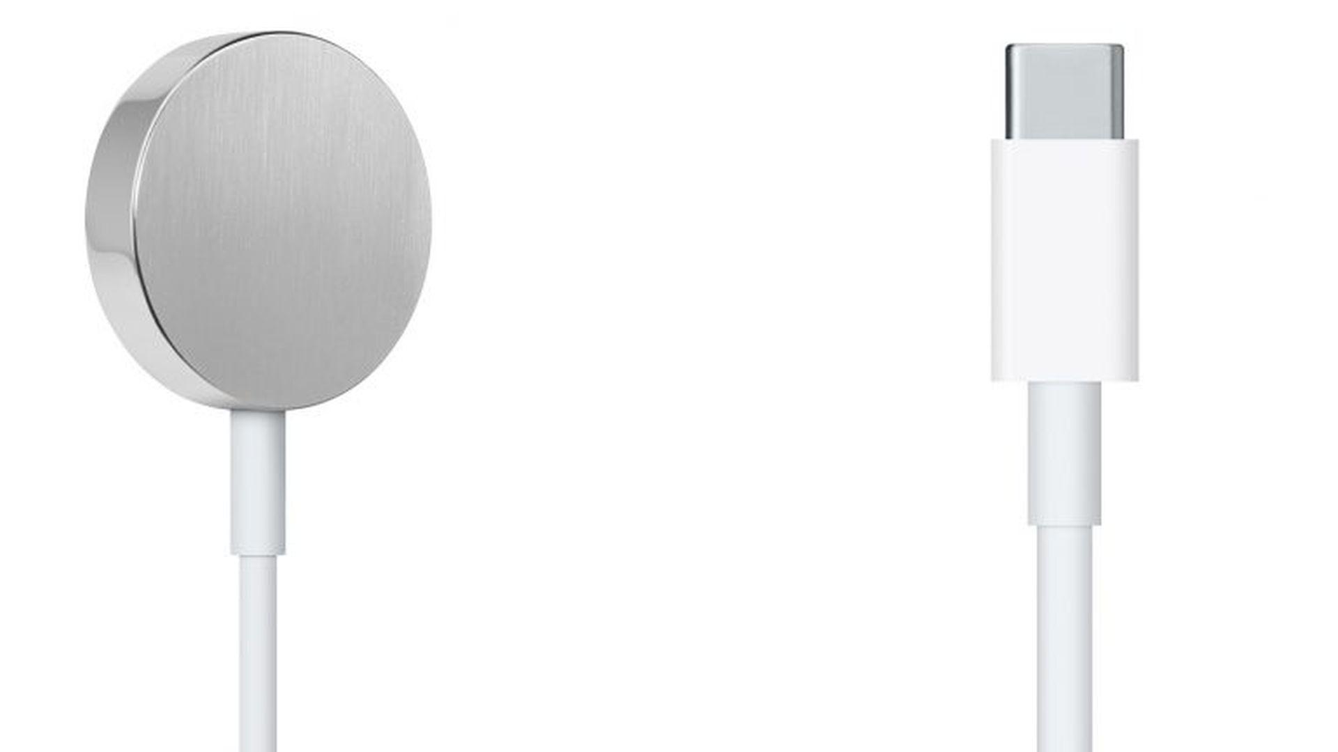 Apple sprzedaje nowy przewód USB-C do ładowania Apple Watch