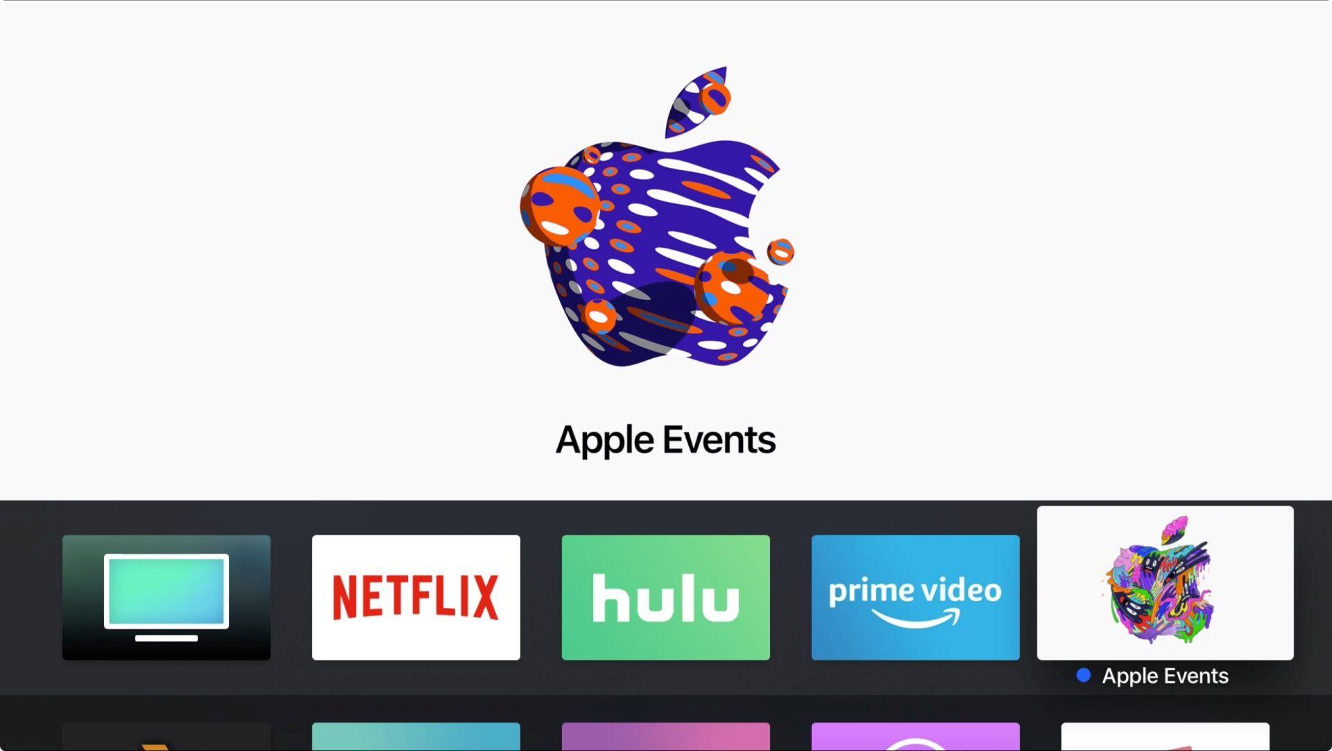 Aplikacja Apple Events dla Apple TV gotowa na najbliższą konferencję