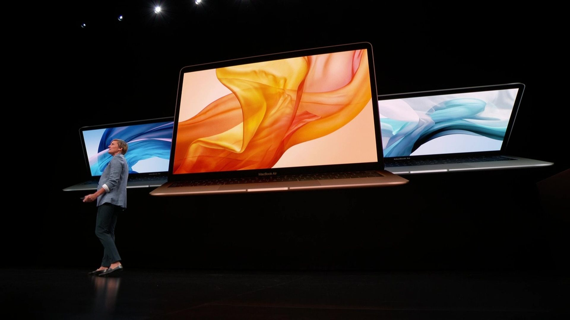 Apple pokazało na konferencji nowego MacBooka Air