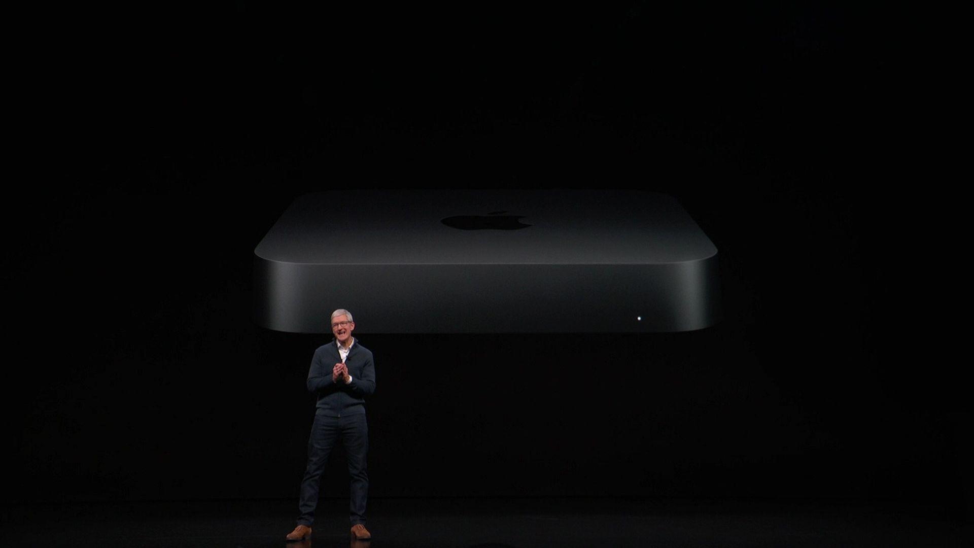 Apple pokazało na konferencji odświeżoną wersję Maca mini