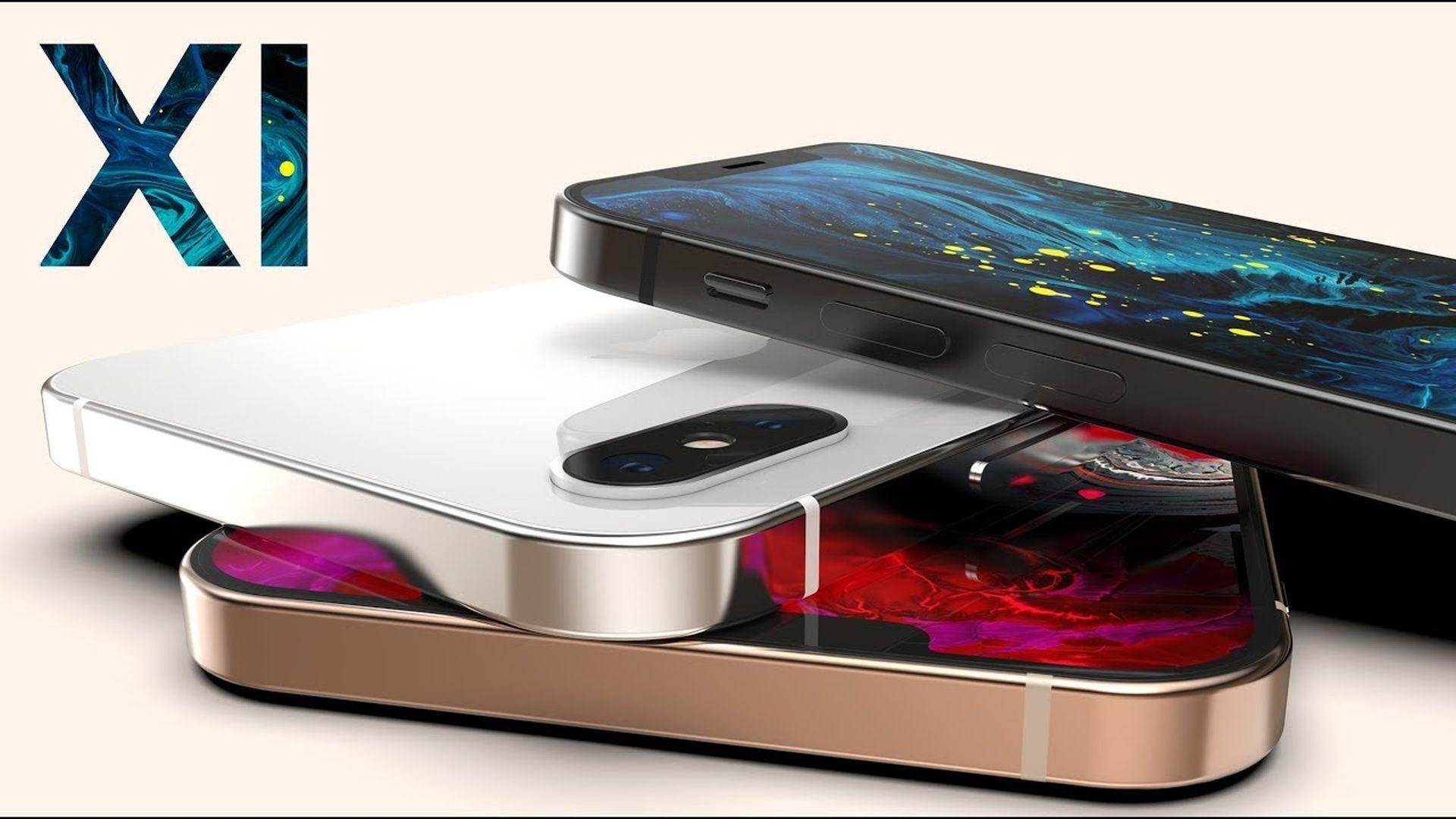 Koncepcja wyglądu przyszłorocznego iPhone'a