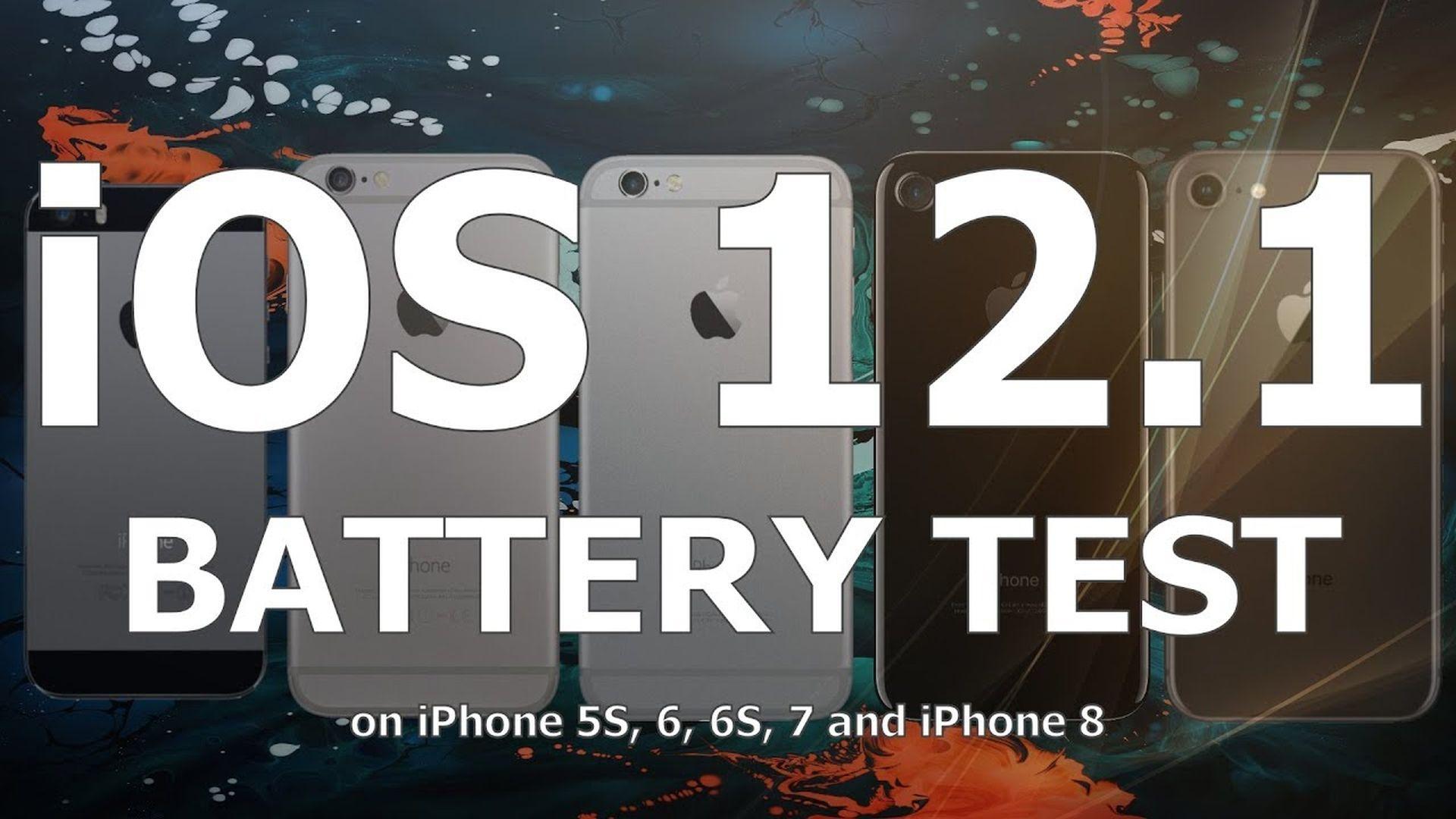 Porównanie żywotności baterii w systemach iOS 12.1 i 12.0.1