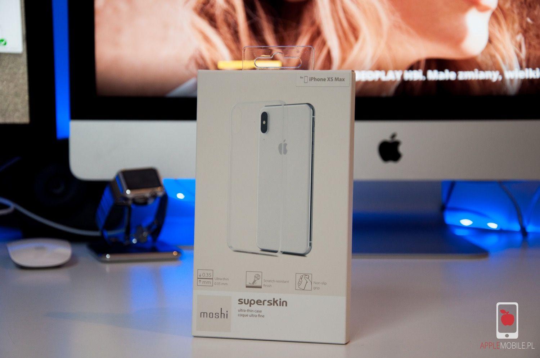 Recenzja etui Moshi Superskin dla iPhone XS Max