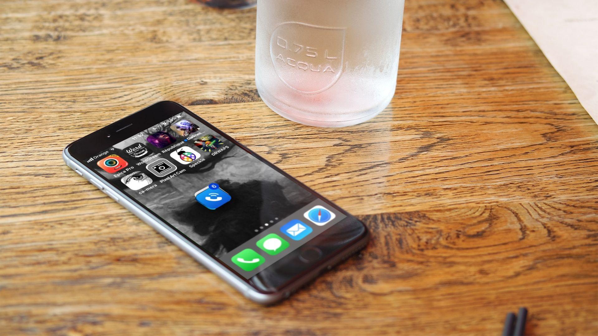 Jak przenieś wiele ikon aplikacji na inny ekran w iOS?