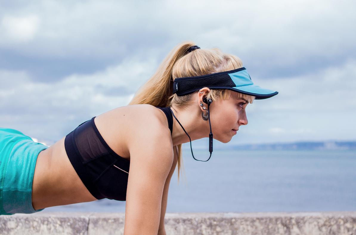 Olimpijska jakość dźwięku ze sportowymi słuchawkami od Motoroli