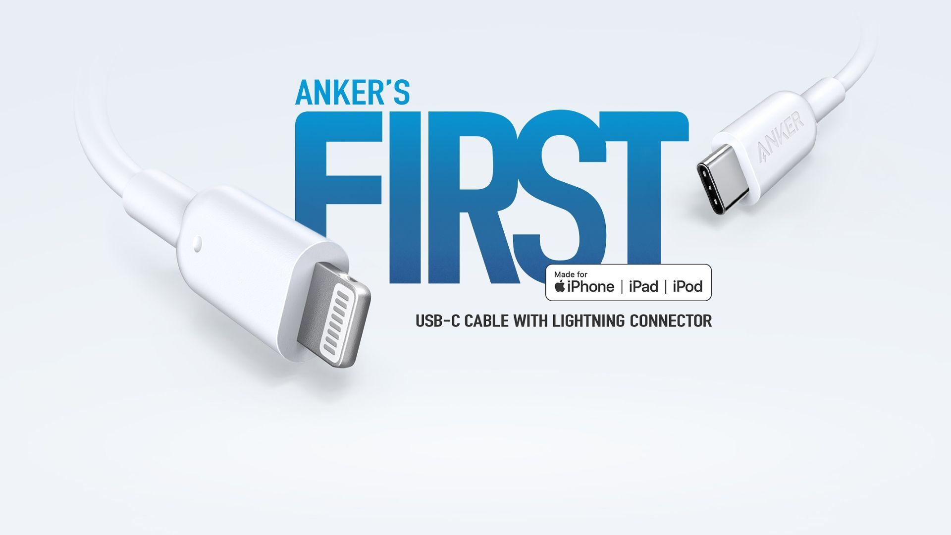 Anker pierwsza firma z certyfikowanym kablem USB-C i Lightning