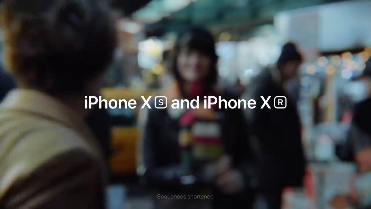 Nowe reklamy promujące iPhone'a XS i XR