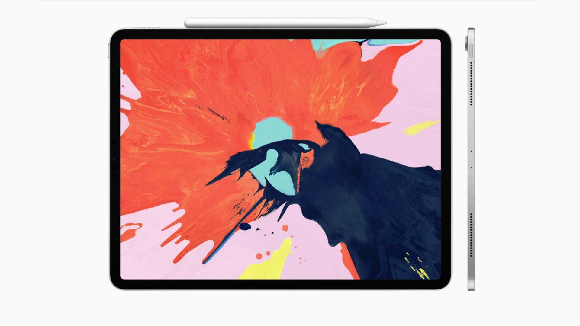 Sprzedaż szacunkowa iPadów w ostatnim kwartale 2018 roku